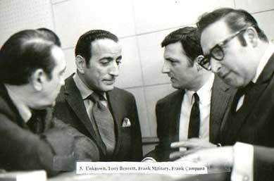 Frank Campana, Tony Bennett